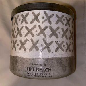Tiki Beach 🏝 3wick candle ✨